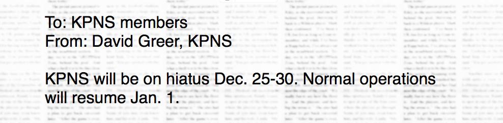kpns-hiatus